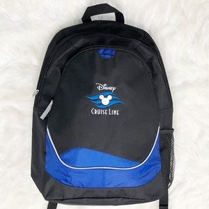 Disney Cruise Line Backpack Black and Blue DCL